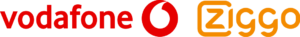 Vodafone Ziggo logo