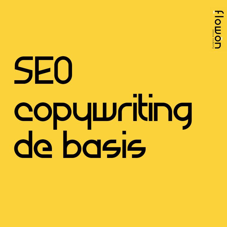 SEO copywriting de basis
